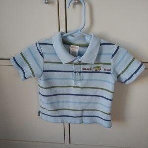 2/$20 Baby boy Gymboree polo shirt 6-12 months